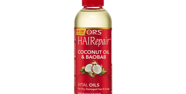ORS HAIRepair Coconut & Baobab Vital Oils For Dry, Damaged Hair and Scalp 127ml