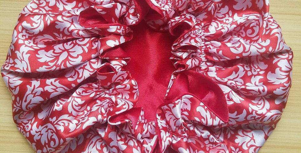 Glorious Mane Satin Print Bonnets