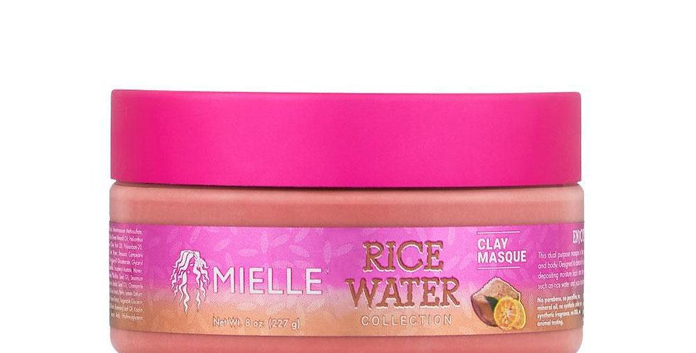 Mielle Organics Rice Water Clay Masque 8 oz./ 227 ml