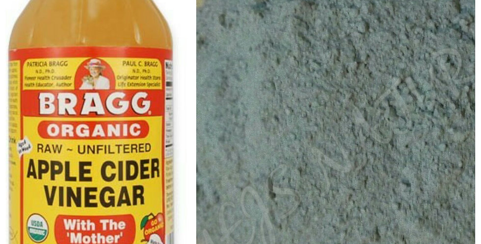 Bragg Apple Cider Vinegar & Bentonite Clay