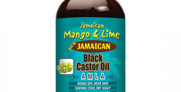 Jamaican Mango Lime Black Castor Oil Amla 4oz