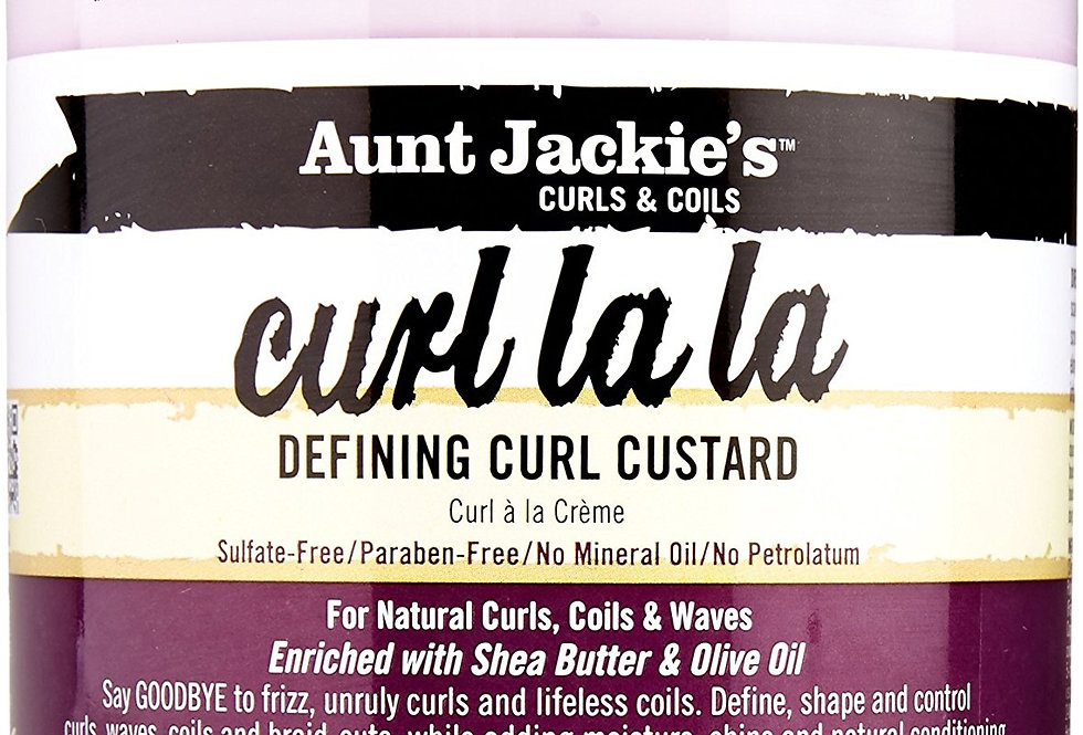 AUNT JACKIE'S CURL LA LA Defining Curl Custard 15oz