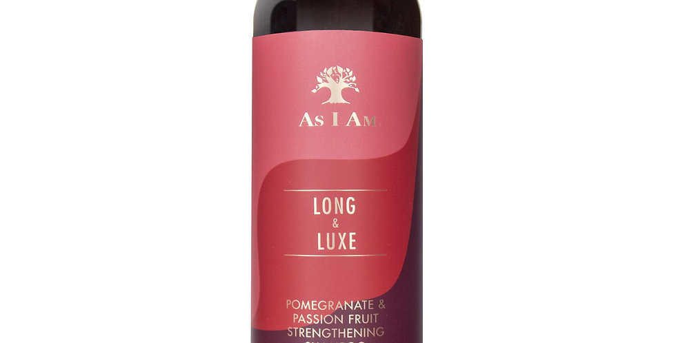 As I Am Long & Luxe Strengthening Shampoo – 12 oz./355ml