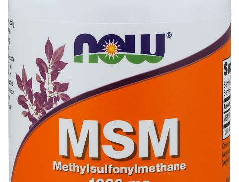 NOW MSM Capsules 1000mg 120 VCAPS