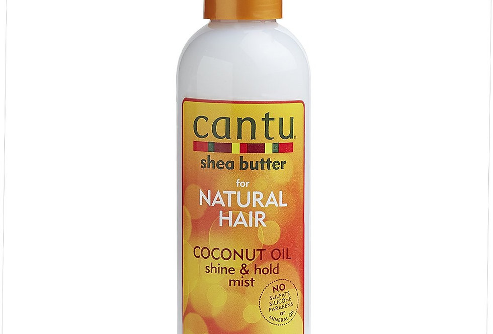Cantu for Natural Hair Coconut Oil Shine & Hold Mist 8.4 fl oz