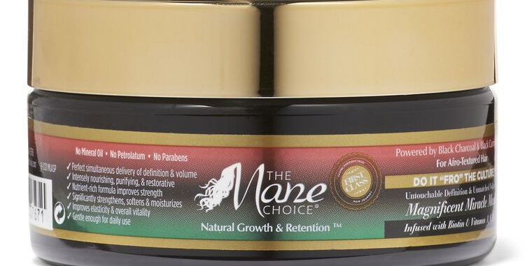 "The Mane Choice Do It ""FRO"" The Culture Magnificent Miracle Mask 8 oz."