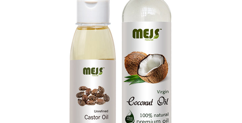 MEJS Coconut Oil & Castor Oil