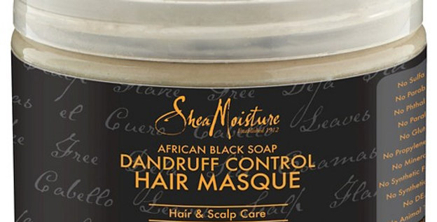 Shea Moisture African Black Soap Dandruff Control Masque 12 fl oz