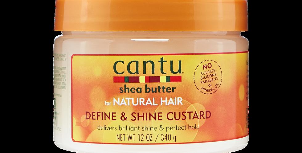 Cantu Shea Butter Define & Shine Custard 12 oz.