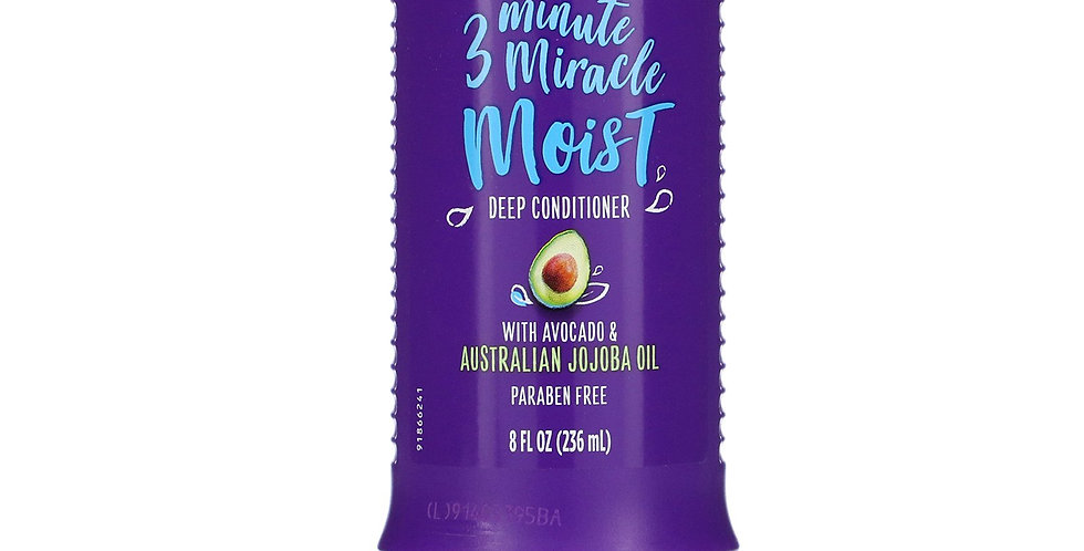 Aussie 3 Minute Miracle Moist Deep Conditioner 8 Fl. Oz. / 236 ml