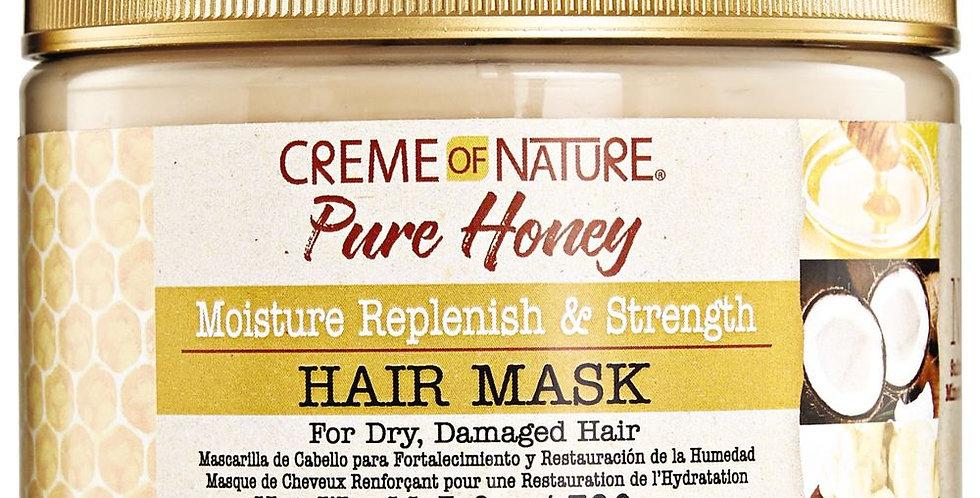 Creme of Nature Pure Honey Moisture Replenish & Strengthening Mask 326 g