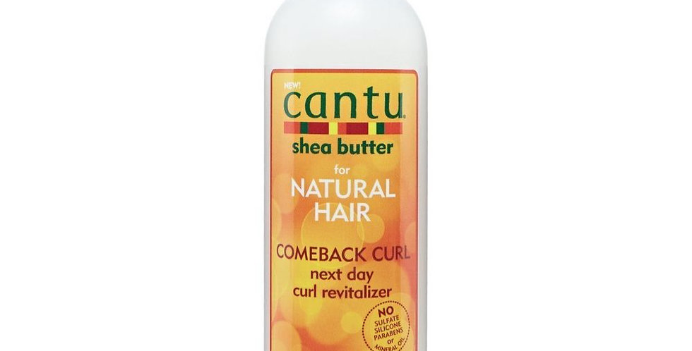 Cantu For Natural Hair Comeback Curl Next Day Curl Revitalizer 12 oz.