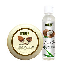 MEJS Coconut Oil & Shea Butter