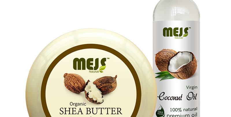 MEJS Coconut Oil & Shea Butter
