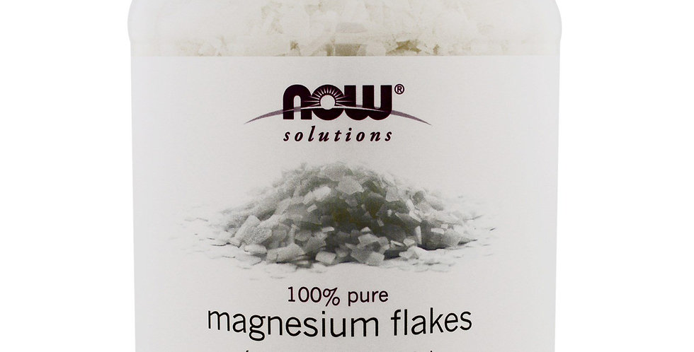 NOW Foods Magnesium Flakes - 54 oz /1531g