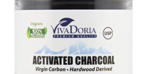 Viva Doria Virgin Activated Charcoal Powder - 1.2 Oz