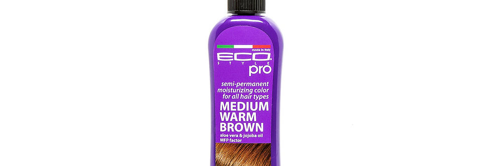 ECO Pro Hair Medium Warm Brown 100 ml