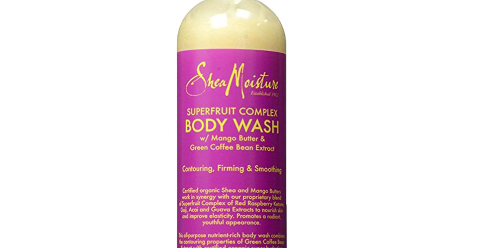 Shea Moisture Superfruit Complex Body Wash 13 oz (384ml)