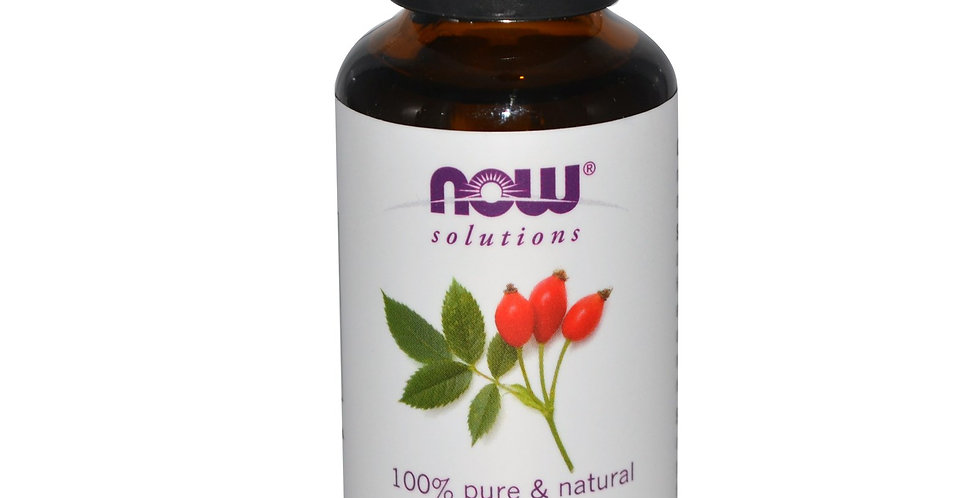 NOW Foods Solutions Rose Hip Seed Oil - 1 fl oz