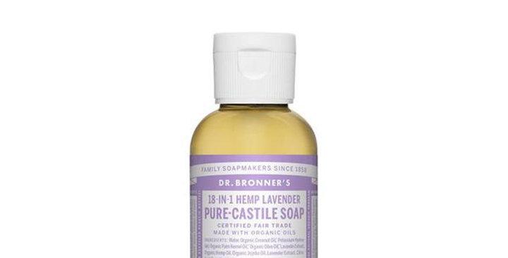 Dr. Bronner's Pure Castile Liquid Soap Hemp Lavender
