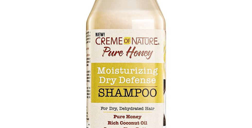 Creme of Nature Pure Honey Moisturizing Dry Defense Shampoo 12 fl oz / 355 ml