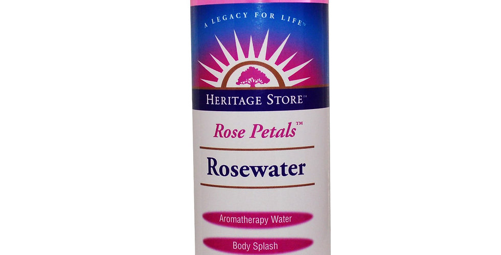 Heritage Products Rose Petals Rosewater