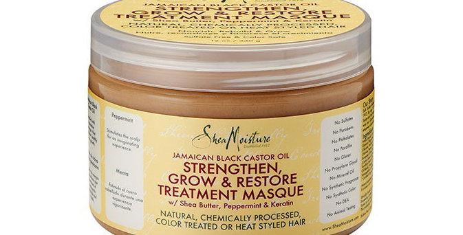 Shea Moisture Jamaican Black Castor Oil Strengthen & Grow Treatment Masque 12oz.