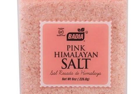 Badia Pink Himalayan Salt - 8 oz