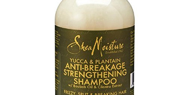 SheaMoisture Yucca & Plantain Anti-Breakage Strengthening Shampoo, 13 oz 384ml