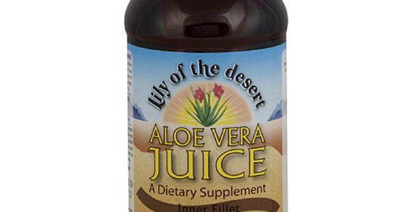 Lily of the Desert Aloe Vera Juice Inner fillet 16 fl oz
