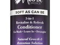 Soft As Can Be Revitalize & Refresh 3-in-1 Co-Wash, Leave In, Detangler 8 oz