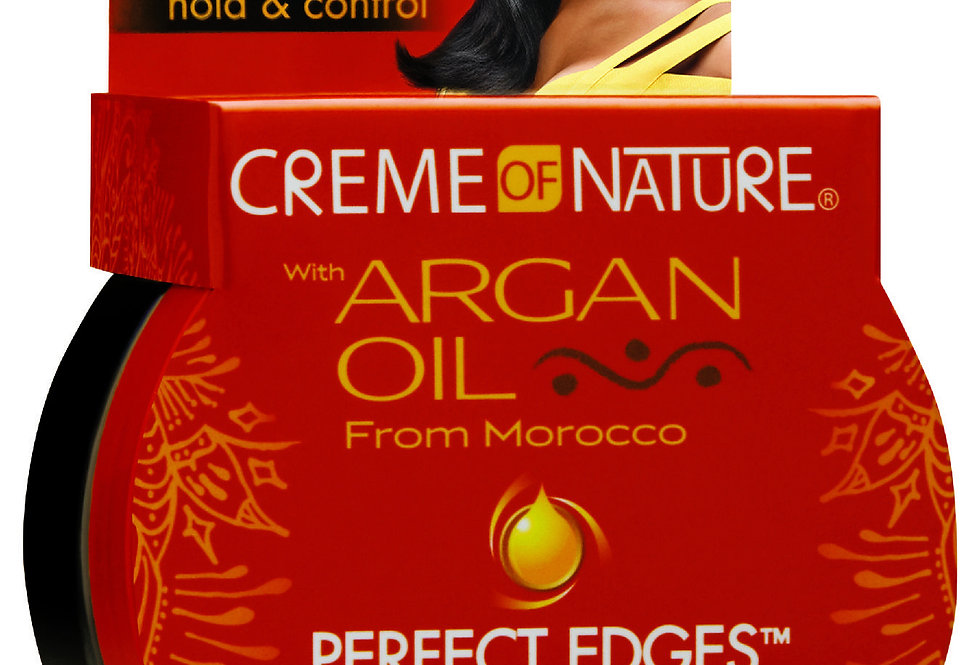 CON with Argan Oil Perfect Edges Black 63.7g