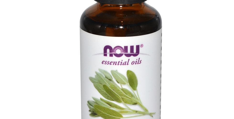NOW Foods Essential Oils Clary Sage  1 fl oz