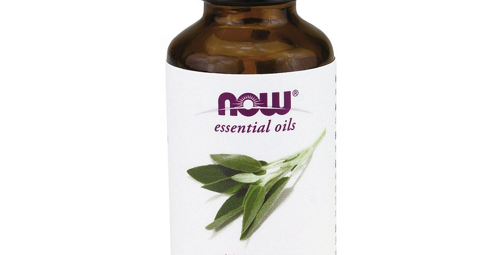 NOW Foods Essential Oils Sage - 1 fl oz