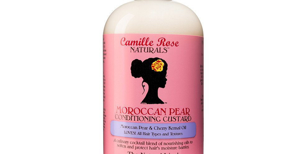 Camille Rose Moroccan Pear Conditioning Custard (Rinse Out) 12oz/355ml