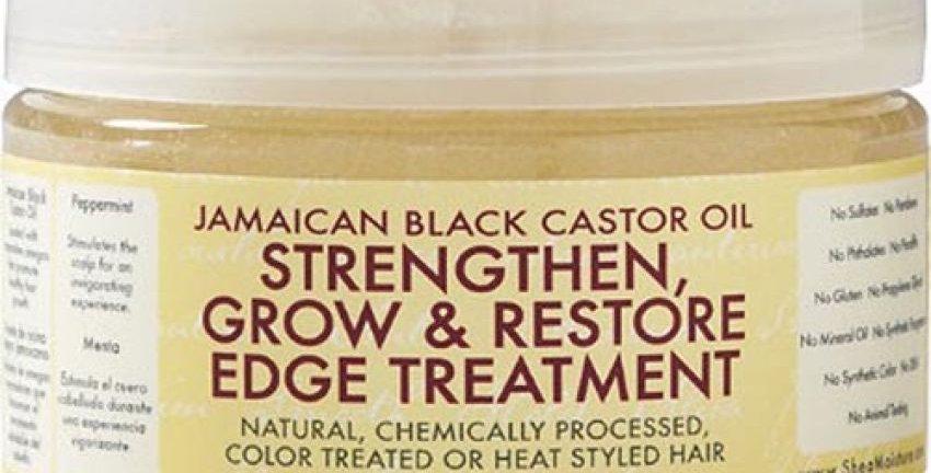 Shea M. Jamaican Black Castor Oil Strengthen, Grow & Restore Edge Treatment 4oz