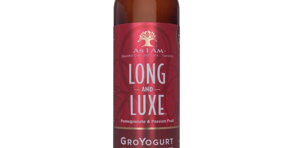 As I Am Long and Luxe GroYogurt Leave-in Conditioner– 8 oz./237ml