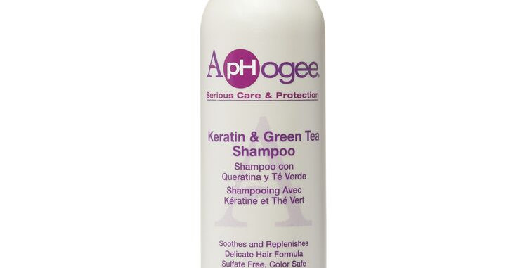 Aphogee Keratin and Green Tea Shampoo – 12  fl oz. / 355 ml