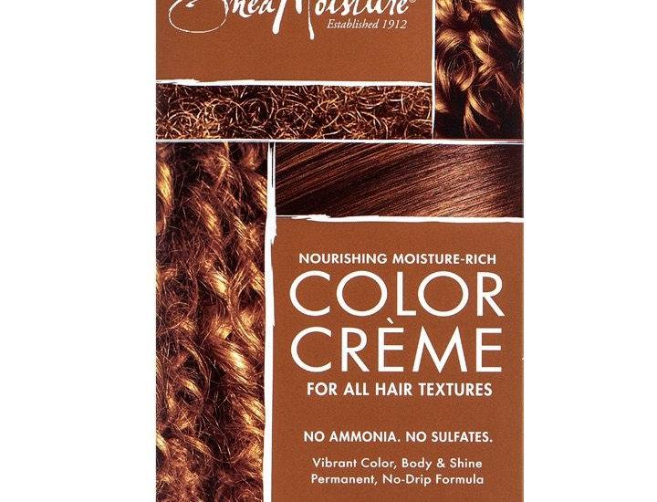 Shea Moisture Nourishing Moisture-Rich Color Creme -Light Brown
