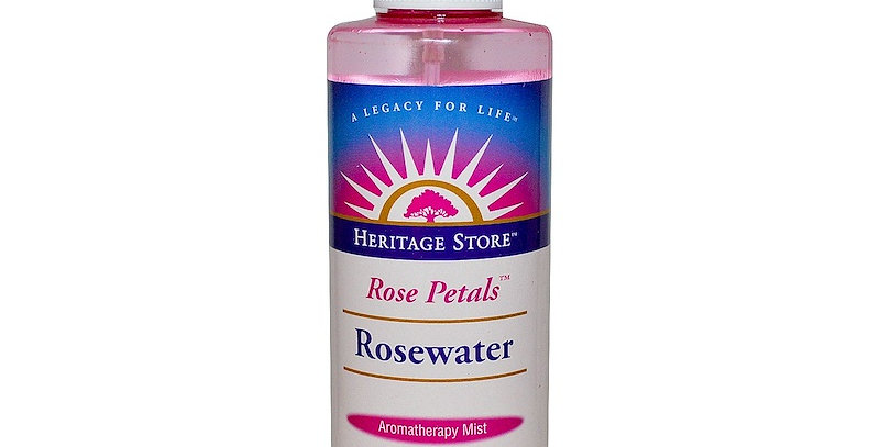 Heritage Products Rose Petals Rosewater Spray 8 oz
