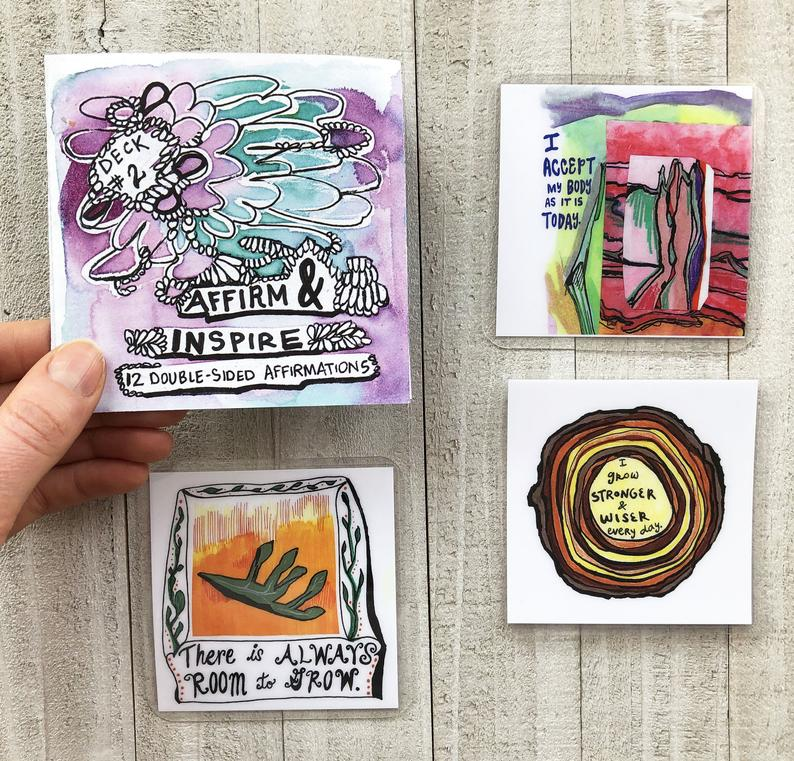 colored cards examples