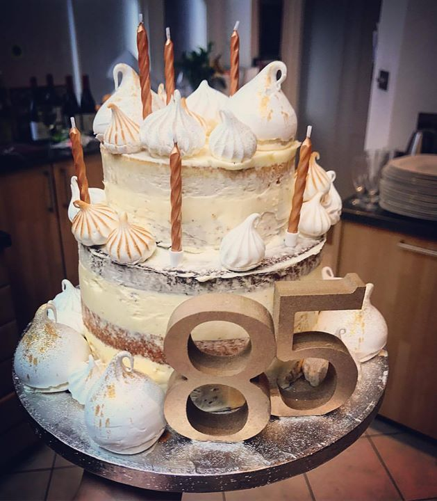 85th birthday cake