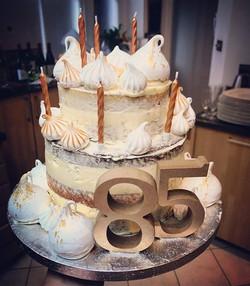 85th birthday cake