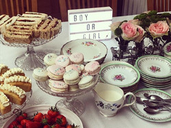 Boy or girl_ Such a great baby shower afternoon tea today in London. ._._._