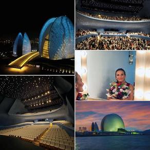 Concert in amazing Zhuhai concert hall