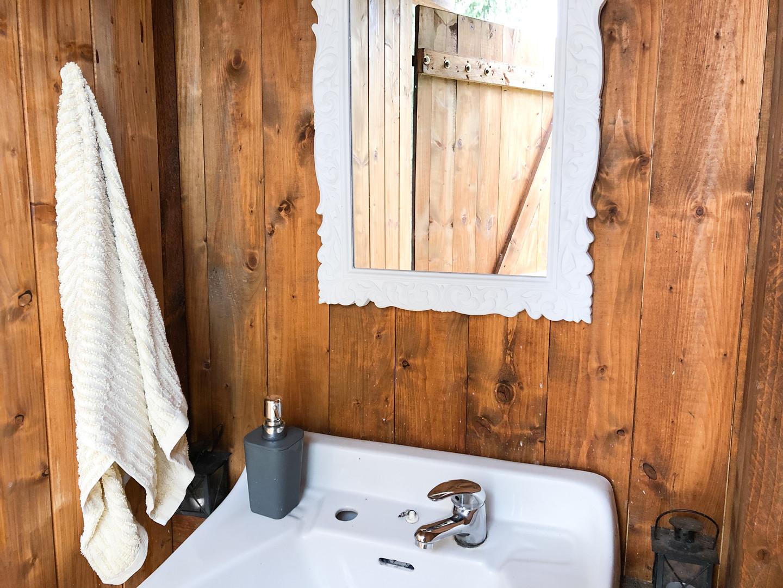 VENKOVNÍ WC + UMÝVADLO