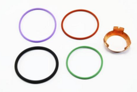 O-Ring Kit for Cummins HPI (ISX-QSX) Injectors Including Base Washer