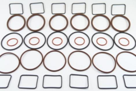 36 Pieces O-Ring Repair Kit for Pump Body + Selenoid
