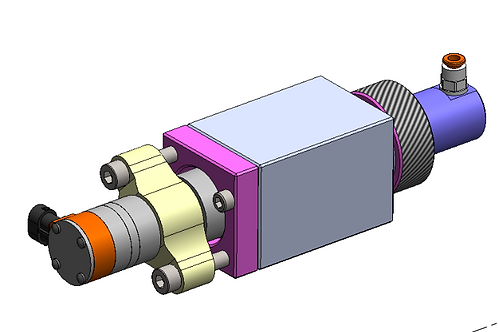 Caterpillar C9 HEUI Injector Test Bench Adapter