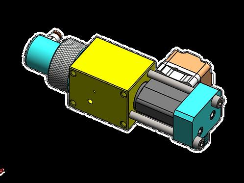 Caterpillar Injector 3116 3126A Side Socket Test Bench Adapter